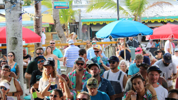 Caribbean Chillers playing at Capt. Hirams on Sunday