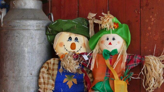 Scarecrow Building Contest