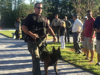 K-9 unit eligible for $5,000 grant.