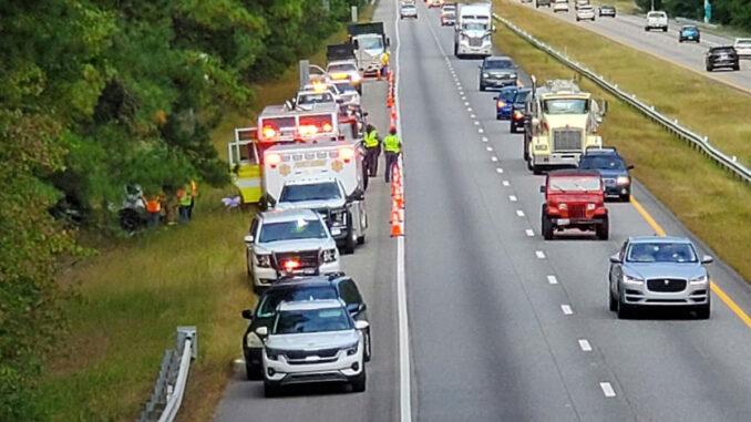 Barefoot Bay woman killed in I-95 crash