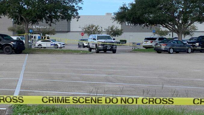 Death investigation at Walmart in Sebastian, Florida.